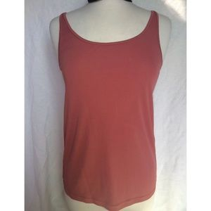Eileen Fisher Sleeveless Silk Camisole Mauve Pink